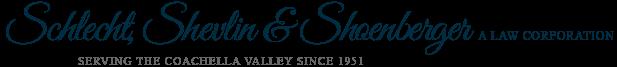 Schlecht, Shevlin & Shoenberger A Law Corporation